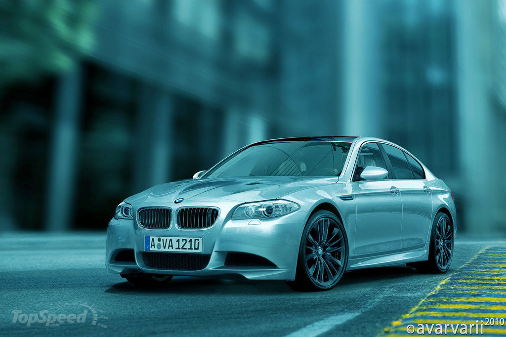 New renderings of the 2012 BMW M5