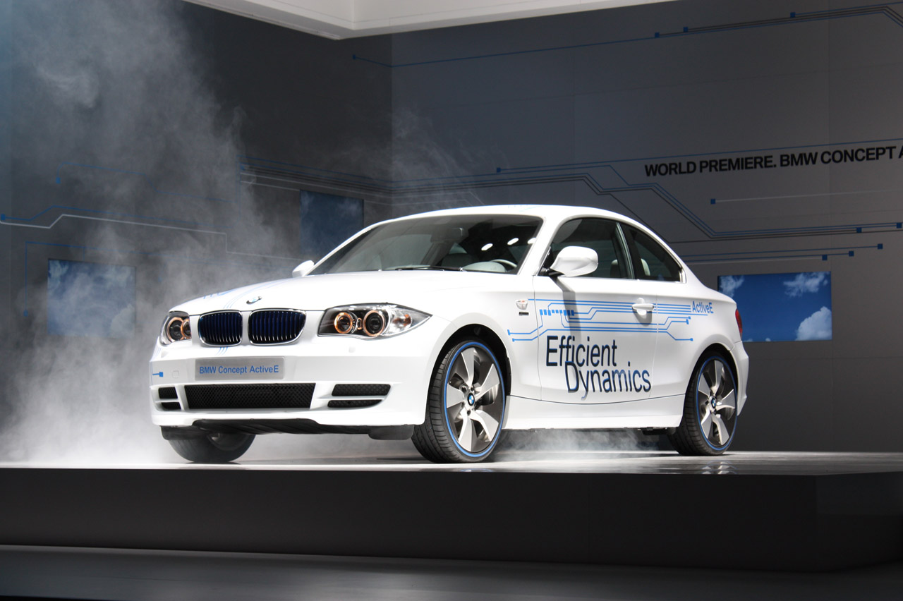 BMW ActiveE Concept Car