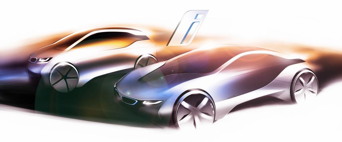 BMW i3 and BMW i8