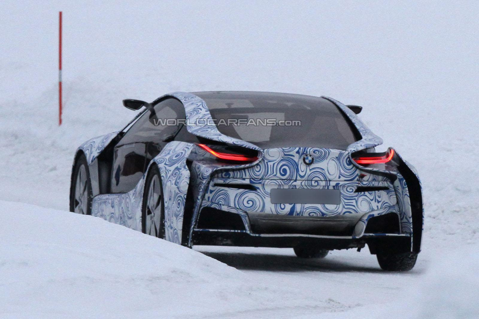 VIDEO: BMW testing the limits of the new i8 on ice