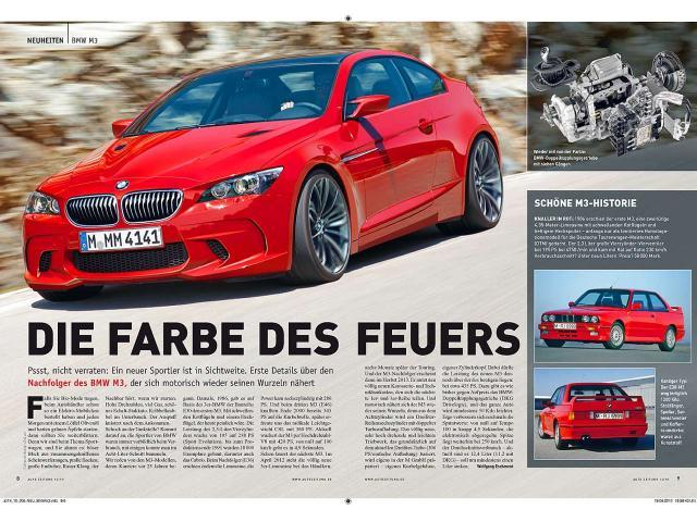 BMW M3 F32 rendering