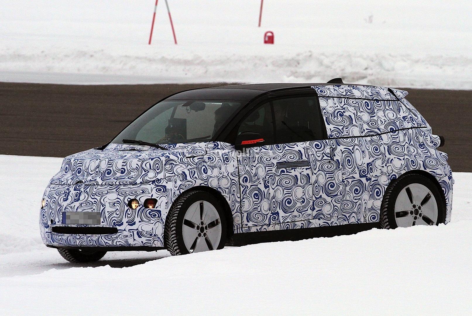 BMW i3 Winter testing spyshots