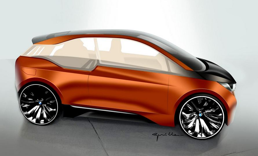 BMW i3 Coupe Rendering