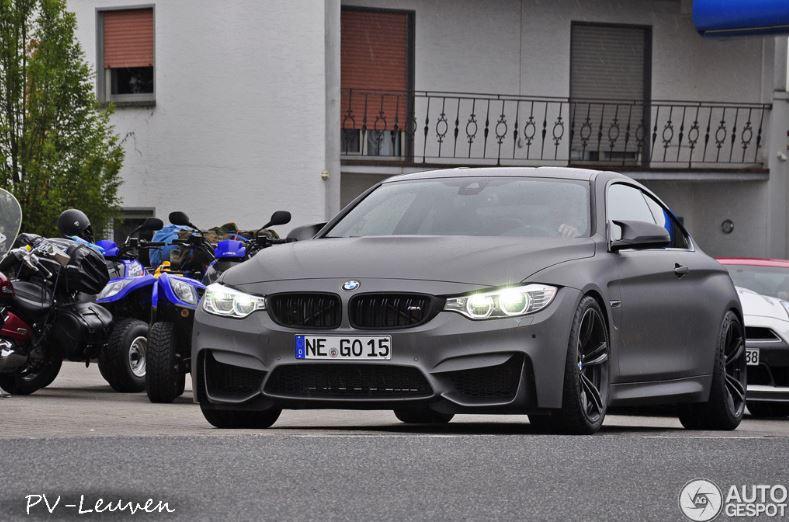 BMW M4 in Frozen Grey