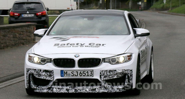 Bmw M4 Tester Gets Motogp Safety Car Camouflage Bmwcoop