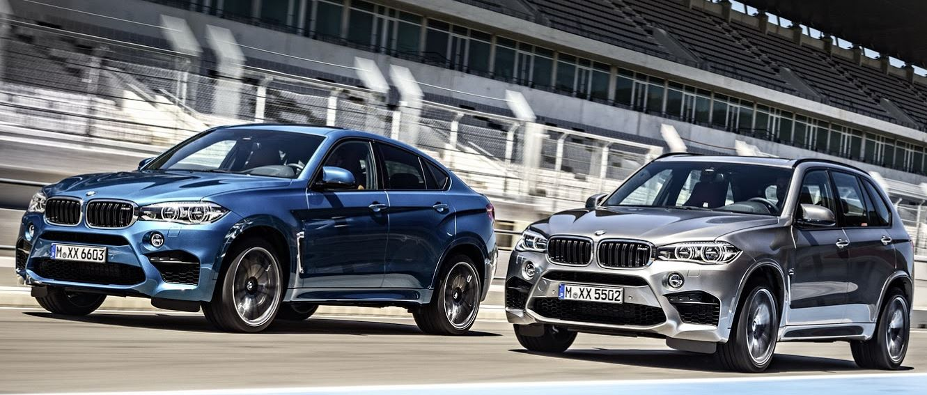2015 BMW X5 M and 2015 BMW X6 M – Unveiled at West Hollywood Event, CA, Ahead 2014 L.A.