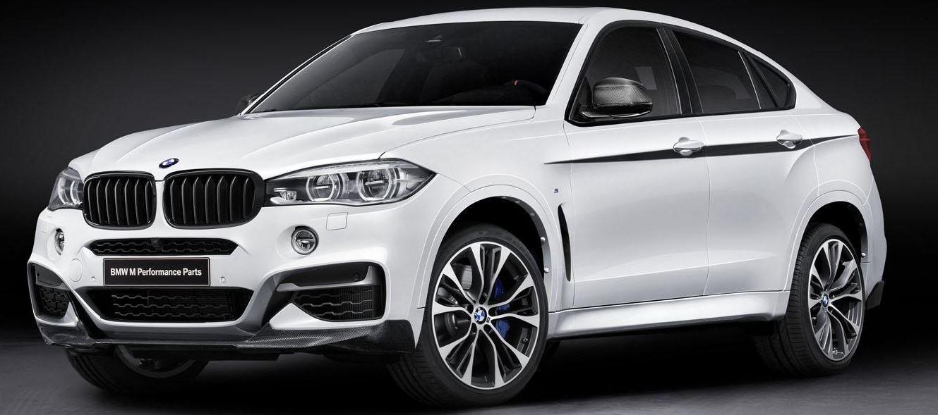 BMW Unveils 2015 X6 M Performance Parts