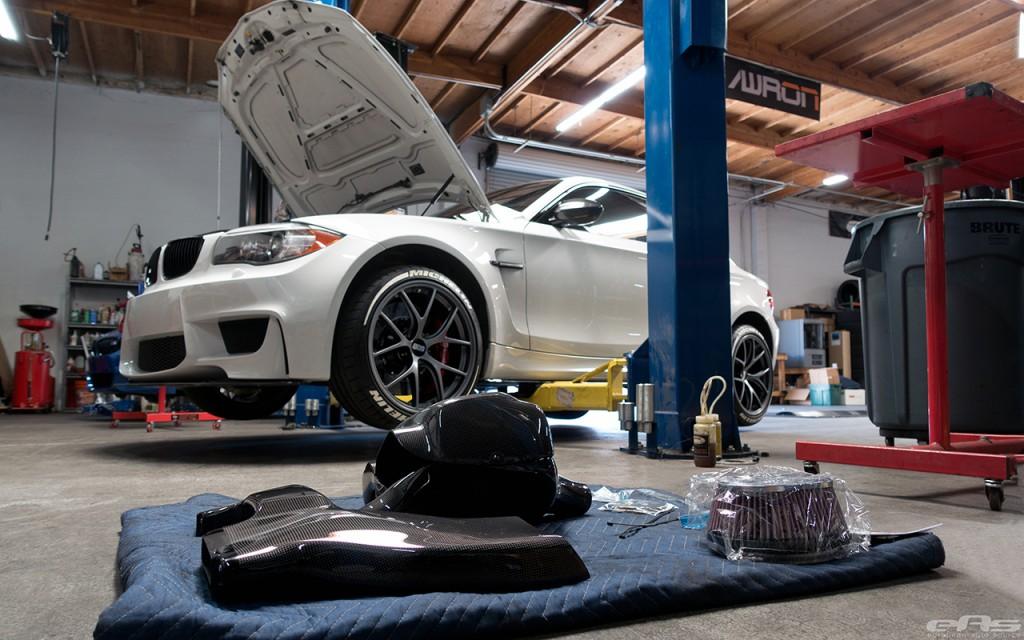 BMW 1M Carbon Fiber Intake by EAS