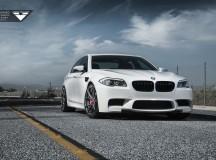 F10 BMW M5 Riding on Vorsteiner V-FF 103 Wheels