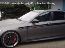 F10 BMW M5 Power Kit by Manhart, Video Reveals Sheer Power