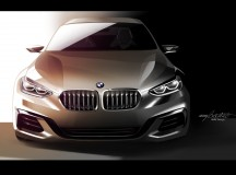 BMW Compact Sedan Concept Launched, Might Hint at Future 1-Series or 2-Series Sedan