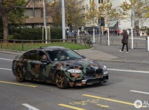 F10 BMW M5 Spotted in Camouflage