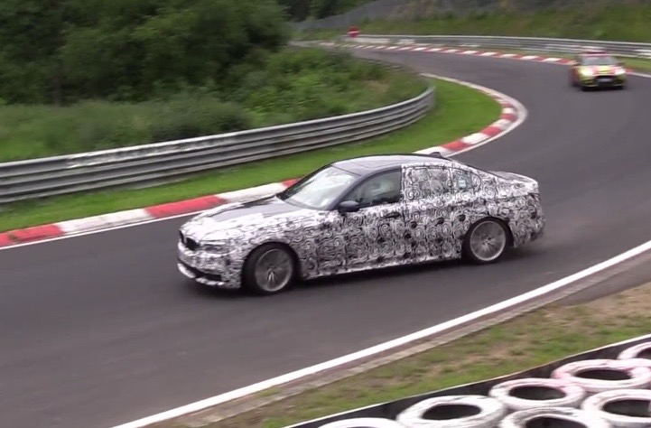 Spy Video: 2017 G30 BMW 5-Series Runs Tests at the Ring