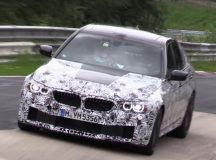 2018 F90 BMW M5 Pops-Up in New Spy Video during Tests at the Ring