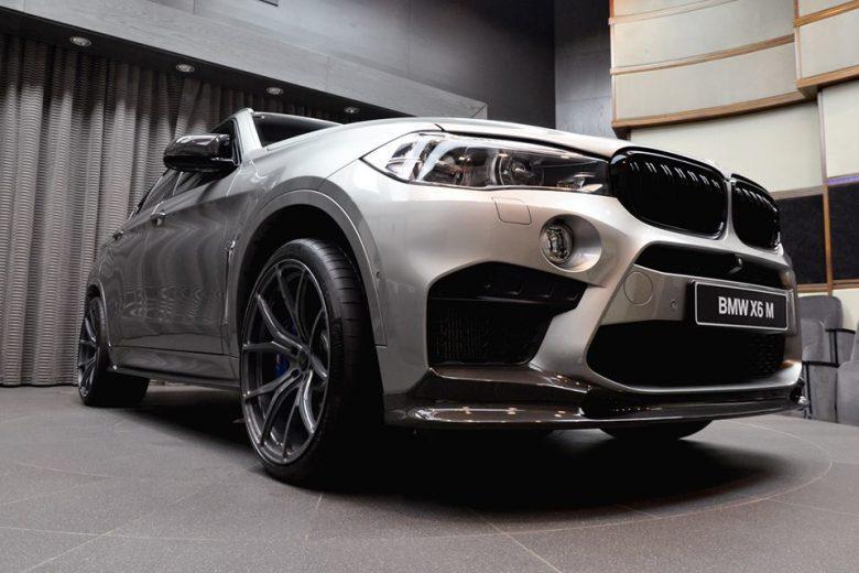 BMW X6M by Vorsteiner Gets Proper Display at BMW Abu Dhabi
