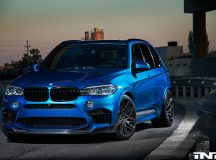 BMW X5 M by iND Comes with Carbon Fiber Highlights, Looks Extremely Aggressive