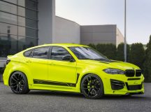 BMW X6 M Looks Meaner and More Powerful, Installation by Lumma Design