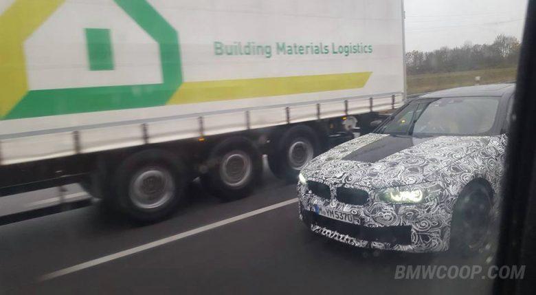 2018 F90 BMW M5 Shot Down on Autobahn [Exclusive Shots]