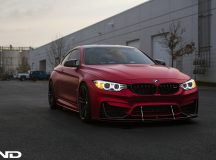 BMW M4 with Aero Package by iND Distribution