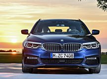 BMW Highlights Exterior and Interior Design of All-New 2017 BMW 5-Series Touring in Exciting Videos