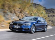 2017 BMW 5-Series Touring Is the Perfect Family Car
