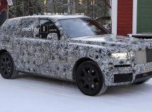 All-New 2019 Rolls-Royce Cullinan Spied