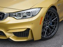 Another Gorgeous Austin Yellow F82 BMW M4 Receives Vorsteiner`s V-FF Wheels, Installation by EAS