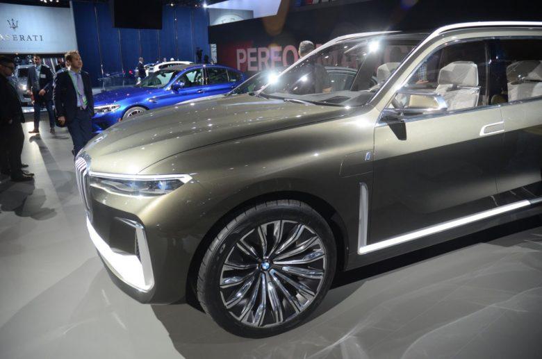 BMW X7 iPerformance Concept at LA Auto Show