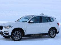 Electric BMW X3 Prototype
