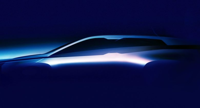 BMW iNEXT Teaser Image Released – Will Be a Fully-Electric Crossover with Increased Mile Range