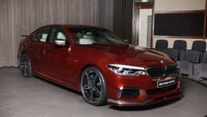 BMW M550i xDrive Shines in Abu Dhabi with AC Schnitzer Body Treatment